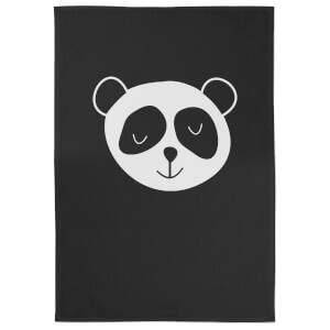 Panda Cotton Black Tea Towel