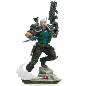 Iron Studios 1:10 Cable BDS Art Scale Statue - Marvel Comics Series 6 Event Exclusive