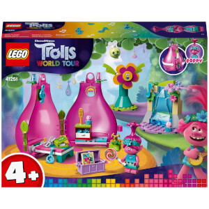 LEGO Trolls 4+ Poppy's Pod Portable Travel Set (41251)