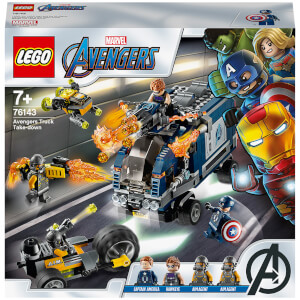 LEGO Super Heroes: Marvel Avengers Truck Take-down Set (76143)