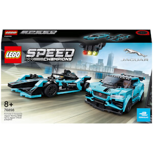 LEGO® Speed Champions: Formula E Panasonic Jaguar Racing GEN2 & Jaguar I-PACE eTROPHY (76898)