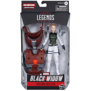 Hasbro Marvel Black Widow Legends Series Yelena Belova Action Figure