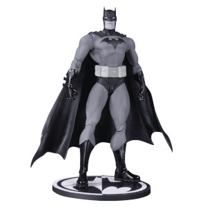 DC Collectibles DC Comics Batman Black & White Action Figure Hush Batman by Jim Lee 17 cm