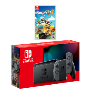 Nintendo Switch (Grey) Overcooked! 2 Pack