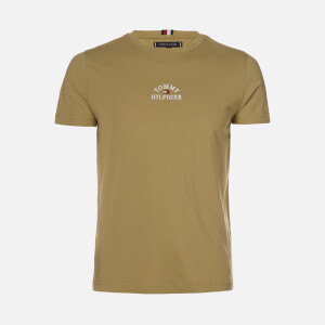 Tommy Hilfiger Men's Arch T-Shirt - Faded Olive