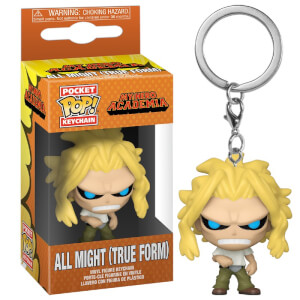 My Hero Academia All Might (True Form) Funko Pop! Keychain