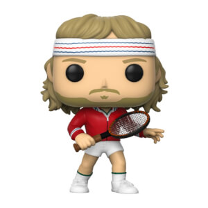 Tennis Legends Bjorn Borg Funko Pop! Vinyl