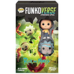 Jeu Funkoverse Rick Et Morty - Version Allemand