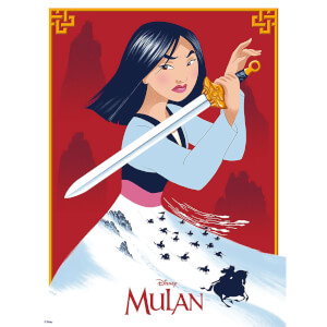 Disney's Mulan Giclee by Doaly