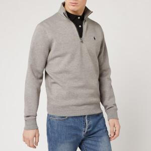 Polo Ralph Lauren Men's Quarter Zip Sweatshirt - Battalion Heather