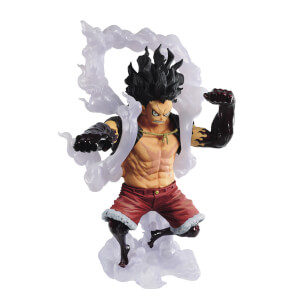 Figurine One Piece Monkey D.Luffy Gear 4 Snakeman KoA - Banpresto