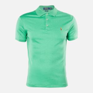Polo Ralph Lauren Men's Pima Cotton Slim Fit Polo - Palm Green Heather