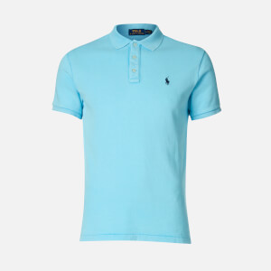 Polo Ralph Lauren Men's Towelling Polo Shirt - Neptune
