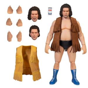 "Super7 Andre the Giant Ultimates 8"" Articulated Action Figure"