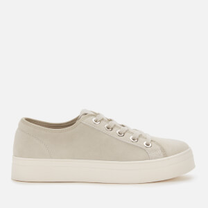 Superdry Women's Flatform Sleek Trainers - Silver Cloud