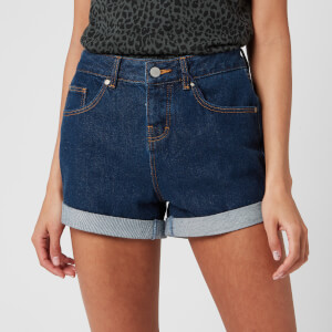 Superdry Women's Steph Boyfriend Short - Denim Indigo Rinse