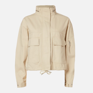 Superdry Women's Bora Cropped Jacket - Oat Bran
