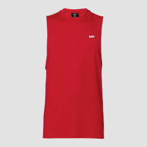 MP Men's Essential Treningssinglet – Skarp rød