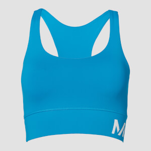 Essentials Training Sports Bra - Sea Blue