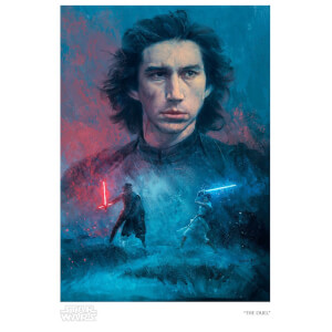 Star Wars: The Rise of Skywalker - The Duel Giclee Print by Ignacio RC