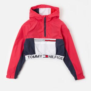 Tommy Kids Girls' Popover Hoodie - Blush Red