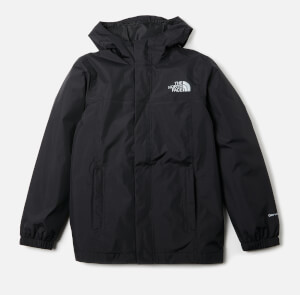 The North Face Boys' Resolve Rain Jacket - TNF Black
