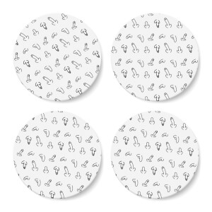 Willies Coaster Set