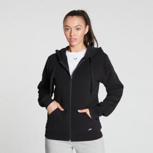 MP Women's Essentials Zip Through Hoodie - Black