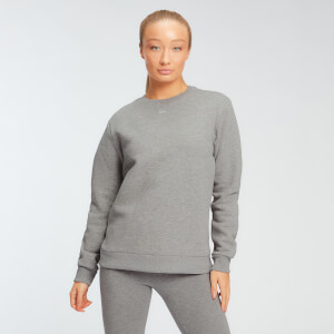 MP Women's Essentials Sweatshirt -collegepaita - Grey Marl