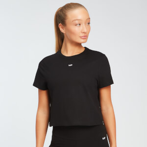 MP Women's Essentials Crop T-Shirt - Black