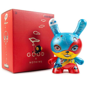 Kidrobot Good 4 Nothing Dunny by 64 Colors 8 Inch Vinyl Figure