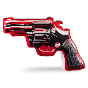 Kidrobot Revolver X-Large Plush by Andy Warhol