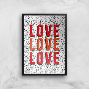 Love Giclée Art Print