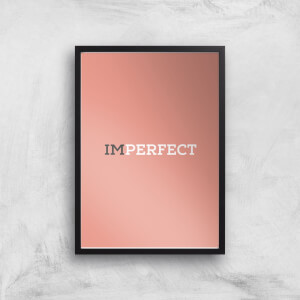 Im Perfect Giclée Art Print