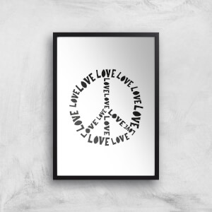 Love And Peace Giclée Art Print