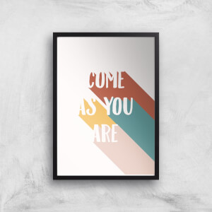 Come As You Are Giclée Art Print