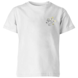 Simons Cat Butterfly Chase Kids' T-Shirt - White