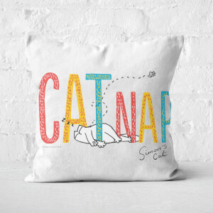 Simons Cat CATNAP Square Cushion