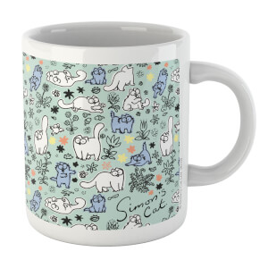 Simons Cat Nature Cat White 11oz Mug