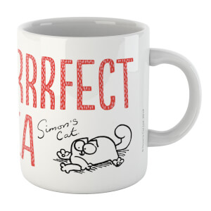 Simons Cat Purrfect White 11oz Mug