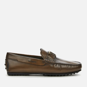Tod's Men's T Leather Loafers - Cocoa