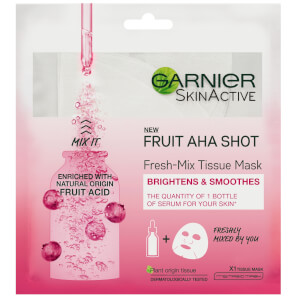 Garnier Fresh-Mix Sheet Mask Skin Hydrating Fruit AHA Shot 33g