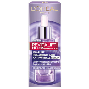 L'Oréal Paris Revitalift Filler with 1.5% Hyaluronic Acid Anti-Wrinkle Dropper Serum 30ml