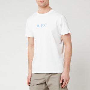 A.P.C. Men's Stamp T-Shirt - Blanc