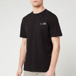 A.P.C. Men's Item T-Shirt - Noir