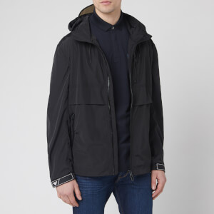 Emporio Armani Men's Light Popover Jacket - Black