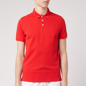 Emporio Armani Men's Basic Polo Shirt - Red