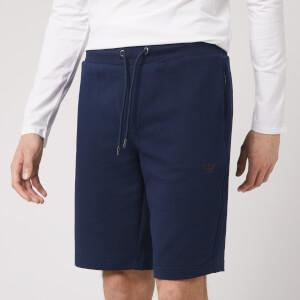Emporio Armani Men's Bermuda Jersey Shorts - Navy