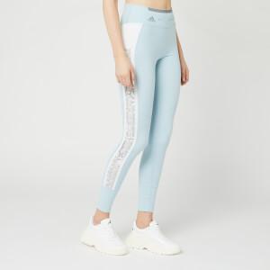 adidas by Stella McCartney Women's Running Tights - Steel Blue