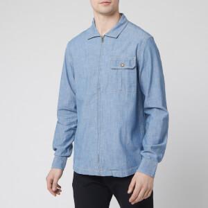 The North Face Men's Long Sleeve Berkeley Chambray Shirt - Medium Indigo